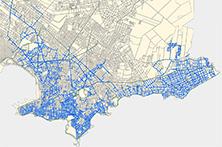 Mapas Interactivos de la Red de MontevideoGas