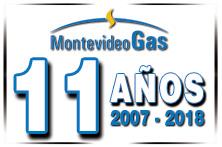 11 años de MontevideoGas