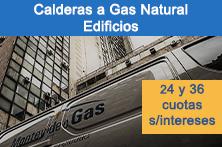 Calderas a Gas Natural Edificios
